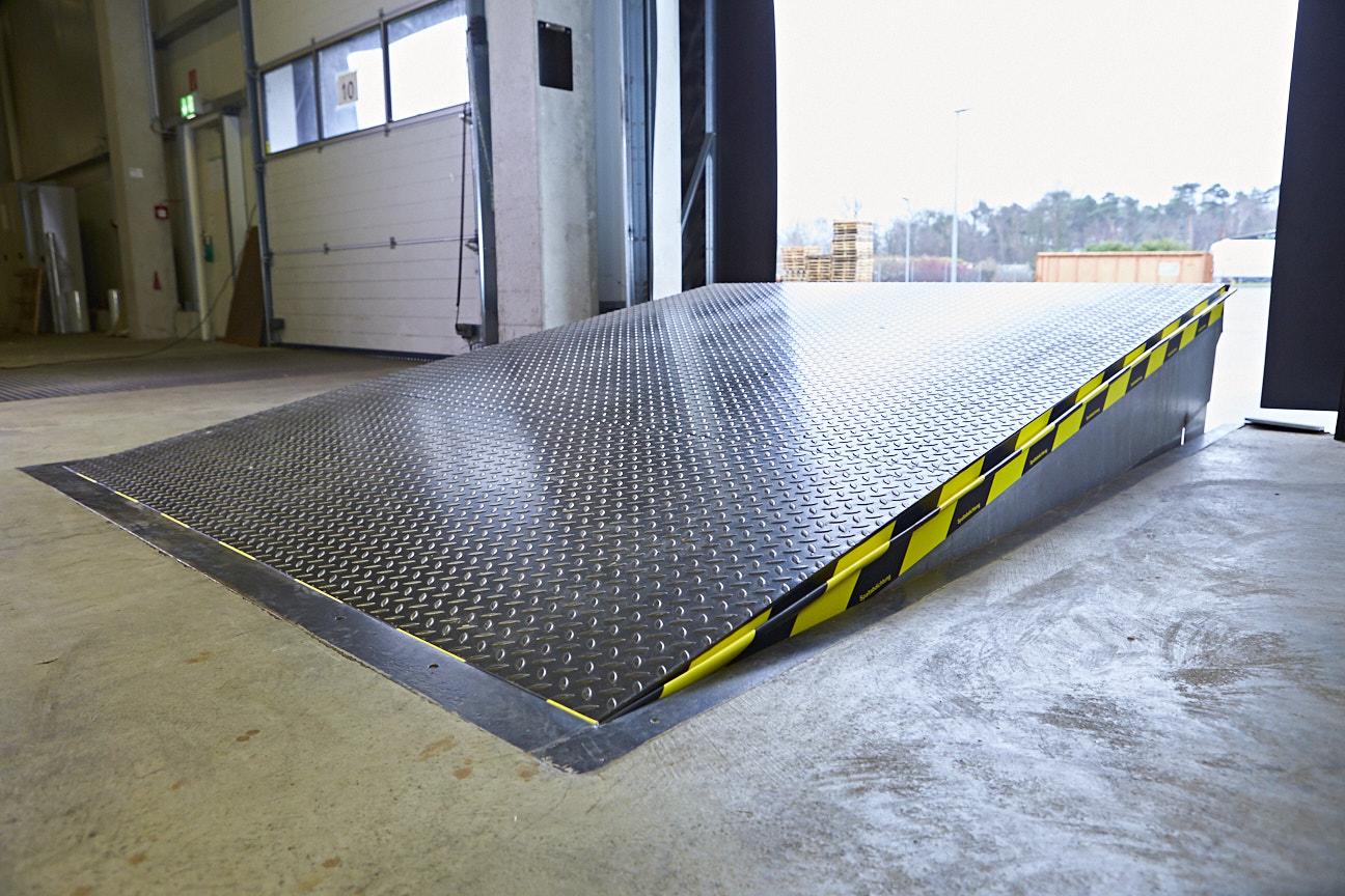EM-FLEX in gebruik op een roldeur voor meer energie-efficiëntie